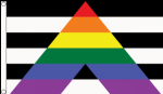 Straight Ally Pride Large Flag - 5' x 3'